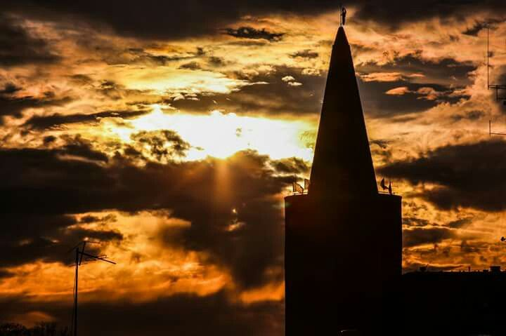 Sunset in Opole