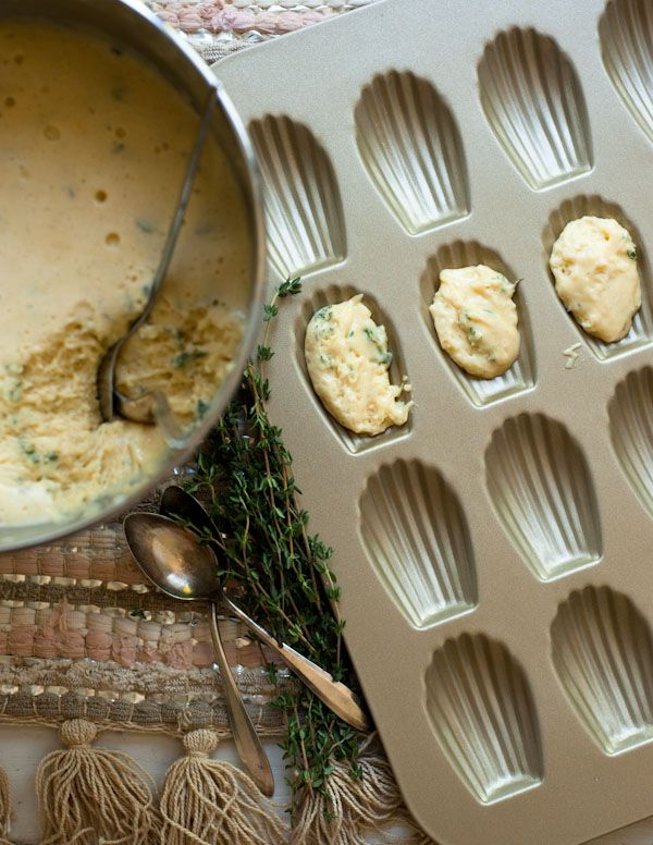 Vanilla Bean and Thyme Madeleines. Photo and Recipe by Stephanie Shih ...