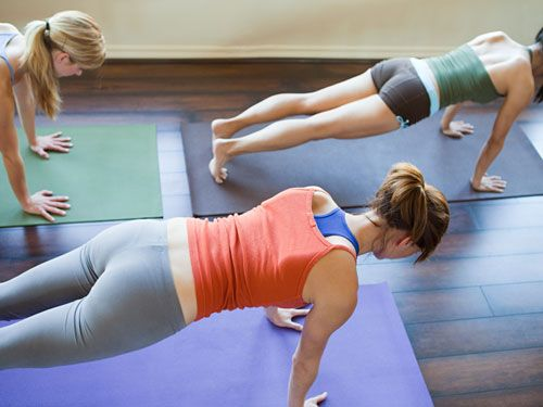 Plank Harder: We all know that the plank is one of the best exercises when it comes to engaging the core, but there are ways to make it even harder and more effective, tuck your tailbone under and squeeze your butt #tone #tummy