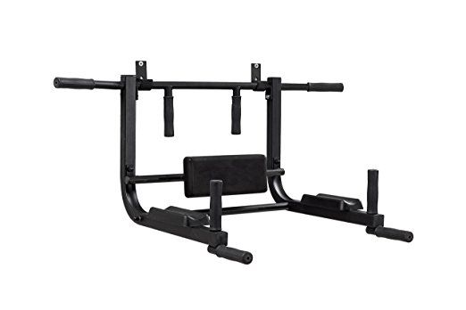 Chin up bar wall mounted Pull up bar home Power tower exercise equipment Vertical Knee Raise Dip Station Workout bar equipment