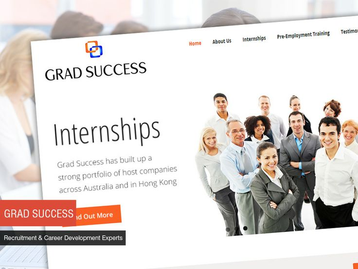 Studio 72 built a clean and simple website for Grad Success, with a content management system which enables them to make updates to their website.