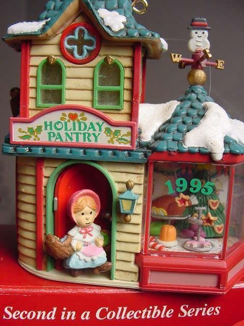 VICTORIAN BAKERY Carlton Holiday Town Pantry Shoppe CHRISTMAS ORNAMENT LIGHTS w