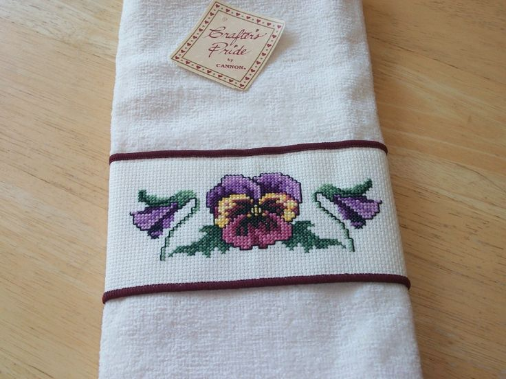 1000 Images About Cross Stitch Towels On Pinterest