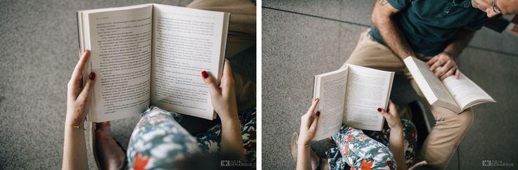 Engagement Session | love session | lifestyle | e-session | book session | livros | biblioteca | amor | sessão de fotos | noivado | pré casamento | ensaio | Parque Vila Lobos | São Paulo