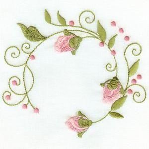 Rose Circles - Attic Treasures   OregonPatchWorks