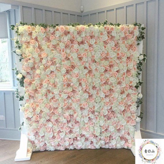 Artificial Peony Rose Wall Background For Wedding Romantic Photography Backdrops Bridal Shower Speci In 2020 Flower Wall Wedding Diy Flower Wall Flower Wall Backdrop