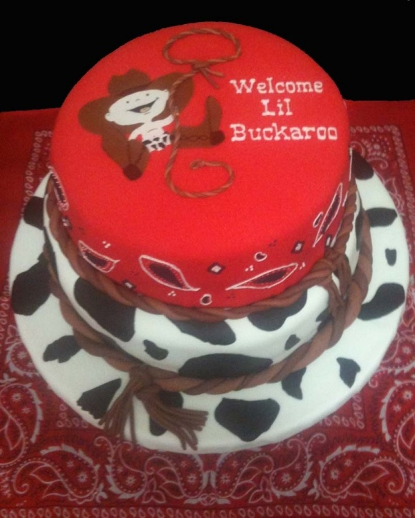 little cowboy western themed cake cowboy cowgirl baby shower b