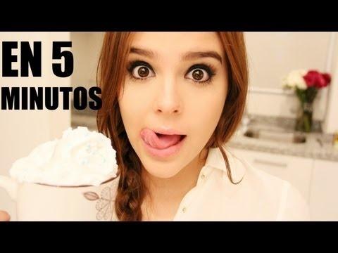 ¡PASTEL EN 5 MINUTOS ♥MICROONDAS! X YUYITA!!