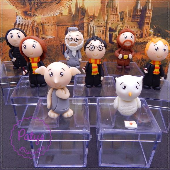 Caixinhas Decoradas Harry Potter