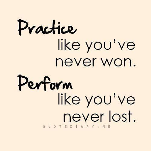 Practice/Perform