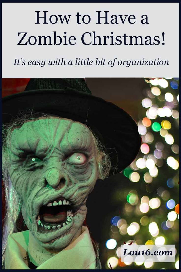 How to have a zombie Christmas