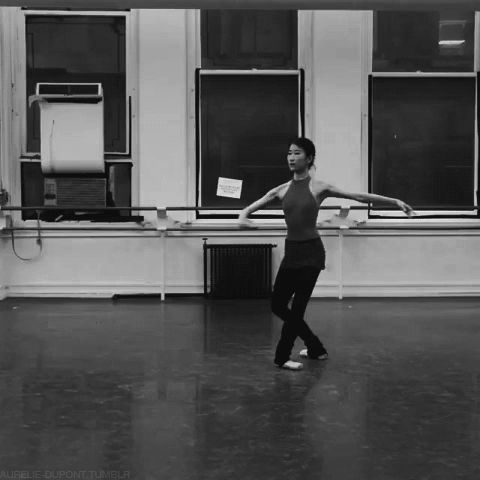 aurelie-dupont:  American Ballet Theatre corps Kaho Ogawa 10 pirouettes