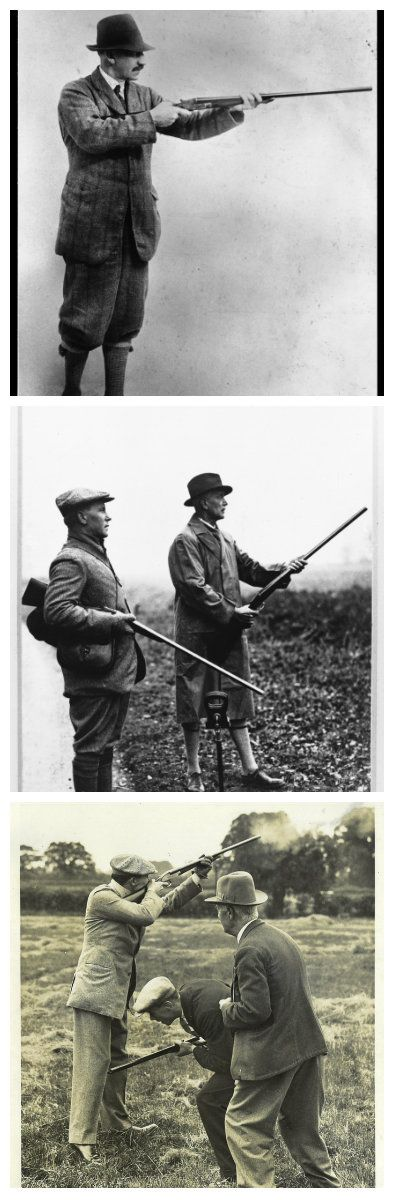 What the well dressed Gun was wearing out in the field in the late 1920's. Images from Purdey.
