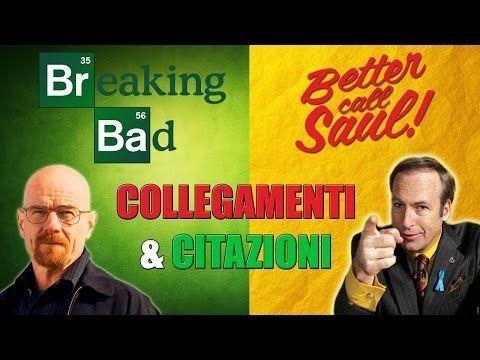 Breaking Bad e Better Call Saul - citazioni e collegamenti - YouTube