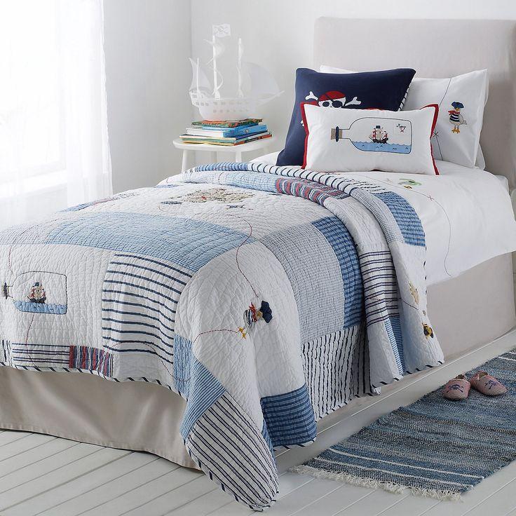 25+ unique Pirate quilt ideas on Pinterest | Boys bedspreads, Kids ...