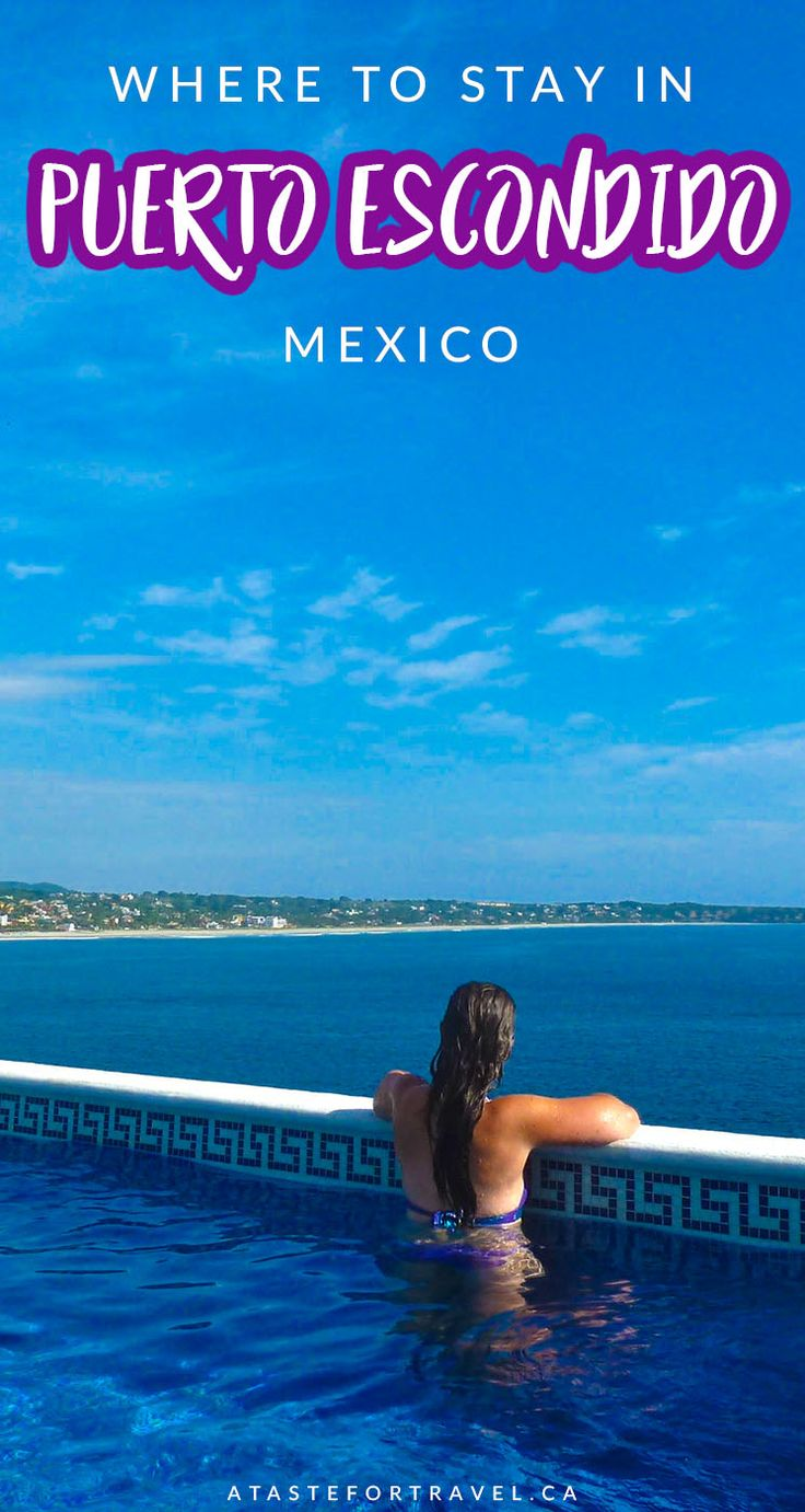 Puerto Escondido in Oaxaca, Mexico is the perfect luxury escape. Here's a full guide on where to stay so you can really indulge! #puertoescondidomexico #mexicotravel #oaxacawheretostay