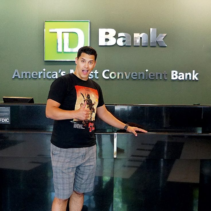 47 days‼ #SurvivingTheCountdown ✔ Today we switched all of our bank accounts from Bank of America to TD Bank! TD Bank has an amazing premier account option that requires $2500 as a minimum balance but waives all ATM withdrawal fees - WORLDWIDE!There are also NO foreign transaction fees. Since we want to avoid any & all additional expenses while we're abroad, this was definitely the best decision. And I don't think TD Bank has ever seen someone SO excited to be standing at their counter!