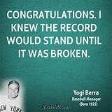 Yogi Berra Quote , love his stuff!