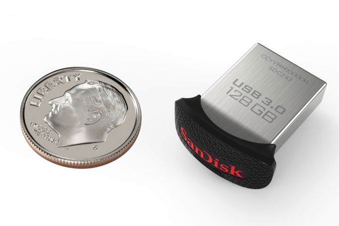 SanDisk Announces World's Smallest 128GB USB 3.0 Flash Drive And Highest Capacity USB Flash Drive Ever