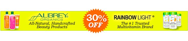 March 2015, Iherb Deal Alert – Aubrey Organics and Rainbow Light products with great discounts!  http://www.iherb.com/specials?rcode=yuy952  http://pusabase.com/iherb-reviews/iherb-deal-alert-aubrey-organics-and-rainbow-light/ #deal #deals #shopping #iherb #bargain #bargains