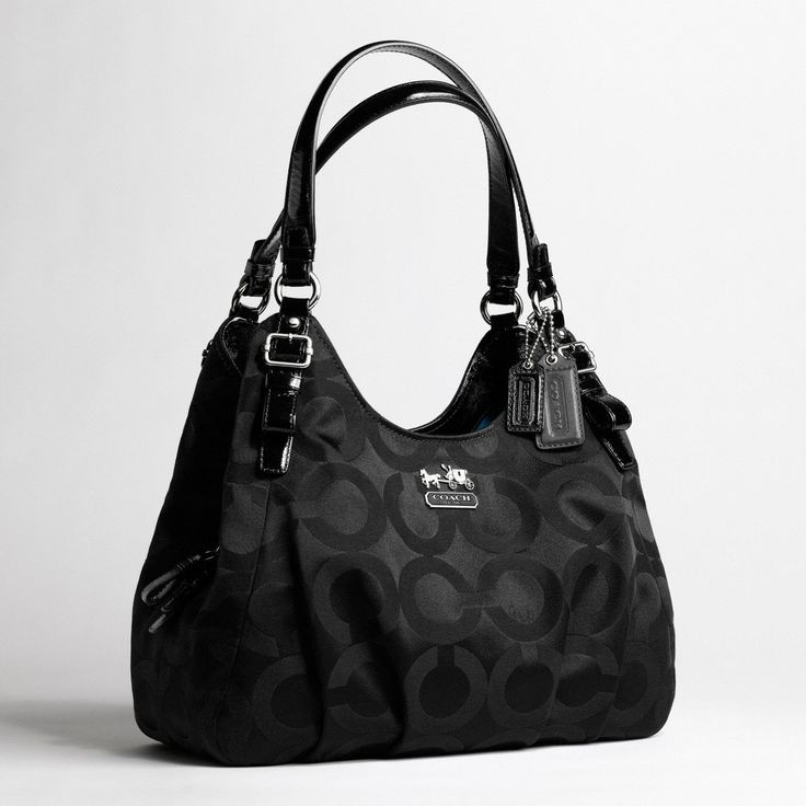 coach madison maggie | Coach madison op art sateen maggie shoulder bag | All Handbag Fashion