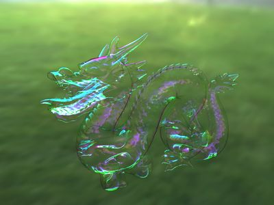 Bubble Dragon ~ Iman Sadeghi 's Homepage : Rendering Soap Bubbles