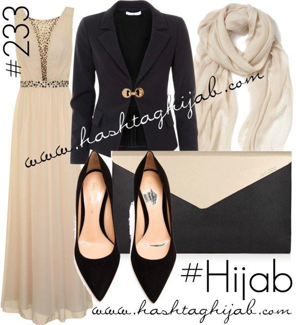 Hashtag Hijab Outfit #233 van hashtaghijab met suede pumpsCHI maxi dress€75 - littleblackdress.co.ukVersace black jacket€575 - profilefashion.comGianvito Rossi suede pumps€520 - brownsfashion.comJimmy Choo black handbag€925 - jimmychoo.comNordstrom braided scarve€28 - nordstrom.com
