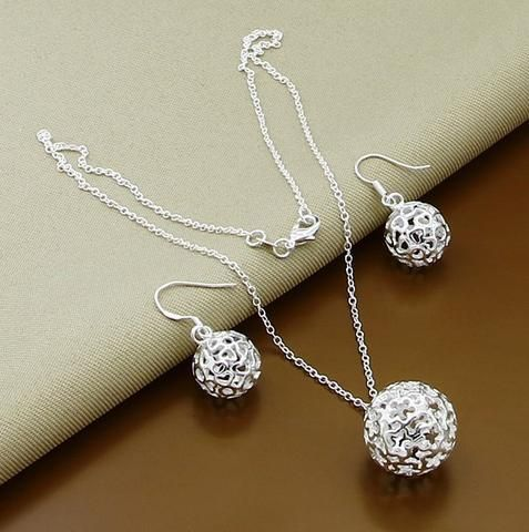 New York Wedding African Beads Ball Bridal Jewelry Set