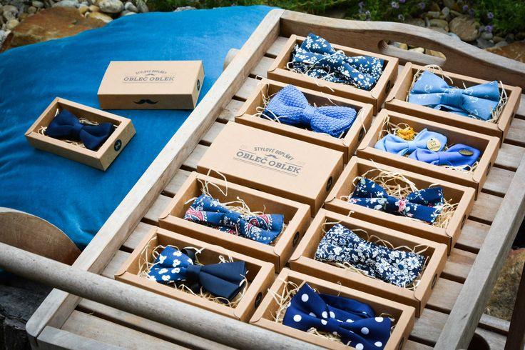 #bowtie Men's Bow Tie Navy blue