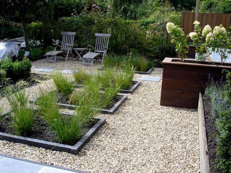 17 beste idee n over grind tuin op pinterest grindtuin grind oprit en tuinontwerp - Tuinuitleg met grind ...