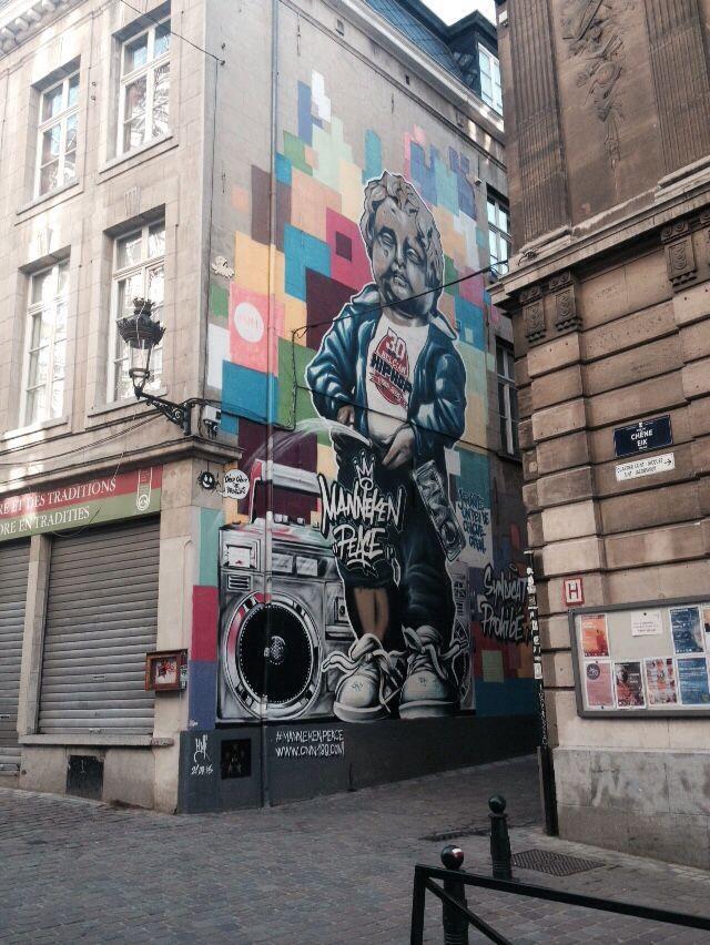Bruxelles, Manneken peace