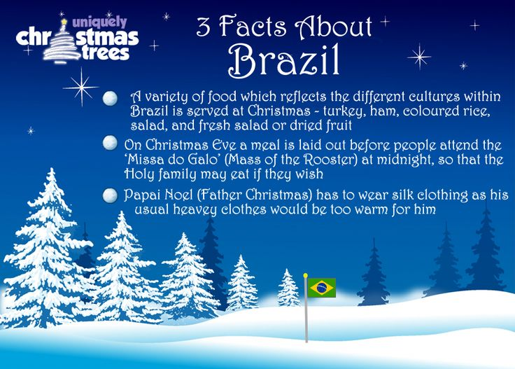 Christmas Facts From Brazil Christmas Facts Amp News