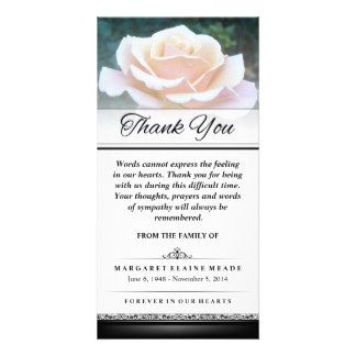 thank you card for funeral