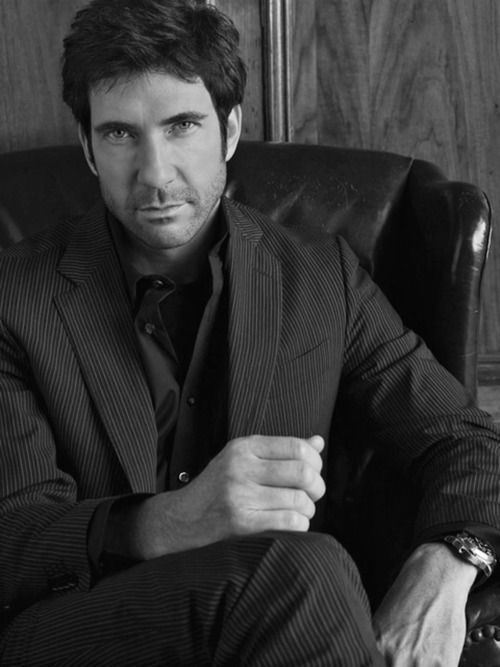 Dylan McDermott is delicious...I can't wait to see him in Perks of Being a Wallflower...and to top it off, he was in AHS.