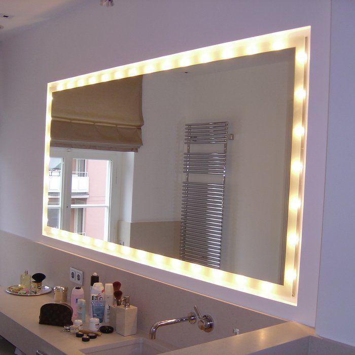 Die besten 25+ Beleuchteter spiegel Ideen auf Pinterest - badezimmerspiegel mit ablage