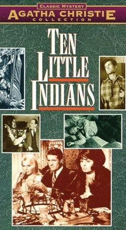 Ten Little Indians by Agatha Christie (1965) Agatha Christie tale of 10 people invited to an isolated place only to find that an unseen person is killing them one by one. One of them? Hugh O'Brian, Shirley Eaton, Fabian...TS classic