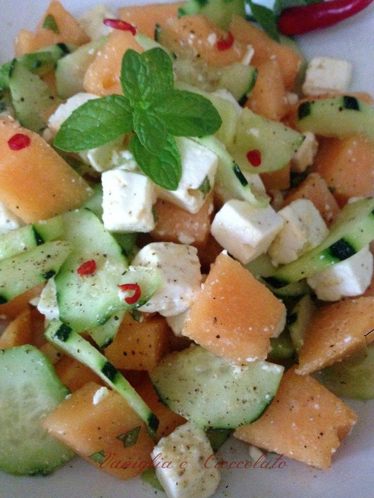 Questa fresca insalata si prepara molto velocemente ed è comodissima da portare…