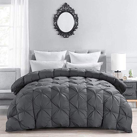 Amazon Com Hombys Luxurious All Season Down Proof Comforter And