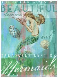 Treasures by Mermaids Artwork