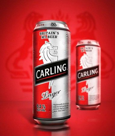 Carling beer limited edition, UK