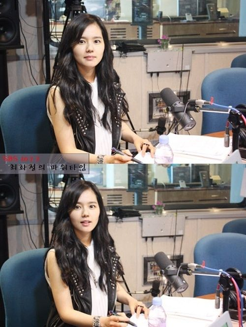 Han Ga In keeps her promise to DJ Choi Hwa Jung's listeners #allkpop