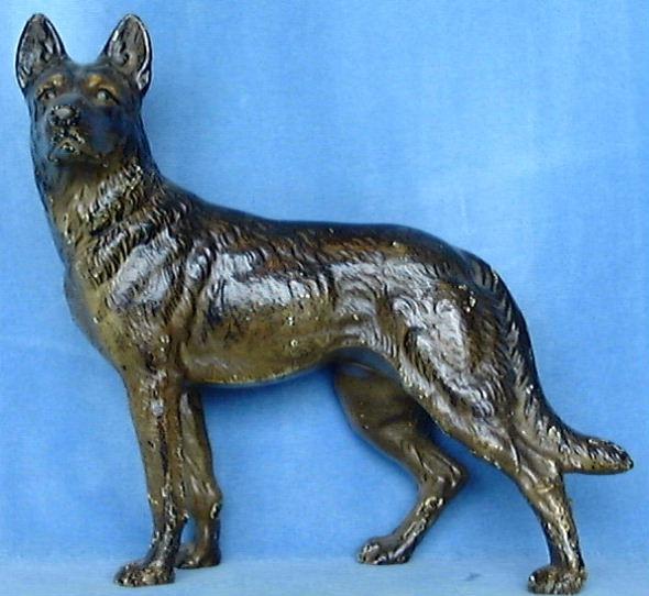 Hubley German Shepherd. Vintage DoorsAntique DoorsPolice DogsDoor StopIron  ...