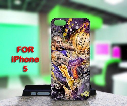 Kobe Bryant Lakers For IPhone 5 Black Case Cover