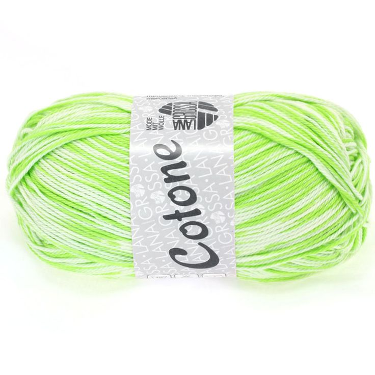 COTONE print 402-yellow green / white | EAN: 4033493151535