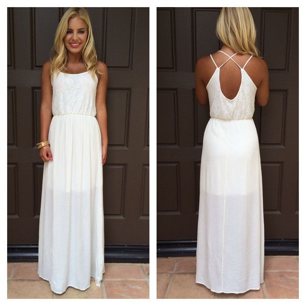 oleander lace and gauze maxi dress in ivory dainty hooligan all things style in 2018 pinterest dresses lace and fashion