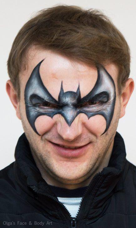 Die besten 17 ideen zu batman schminken auf pinterest - Fledermaus schminken ...