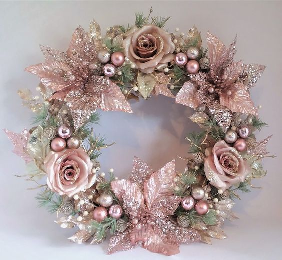 50 Rose Gold Christmas Decor Ideas so that your home tells a Sweet Romantic Story