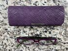 Purple & Green Corinne McCormack Reading Glasses w…