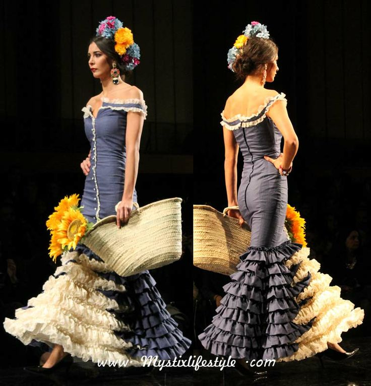 Two tone ruffles, almost like a petticoat