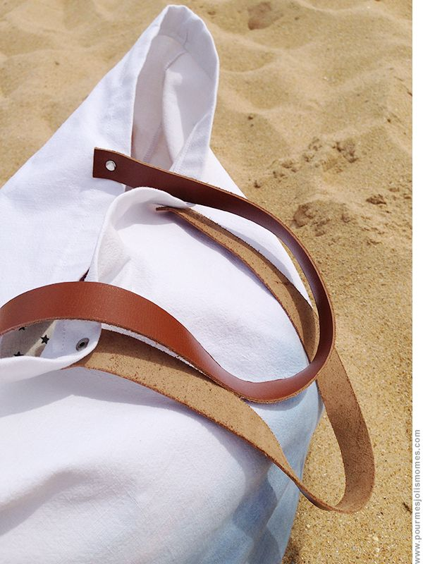 Mon sac de plage en dégradé